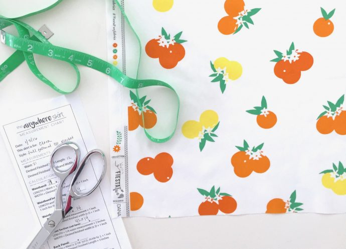 Fiesta Fun fabric collection by Dana Willard for Art Gallery Fabrics | Citrus Sunrise print