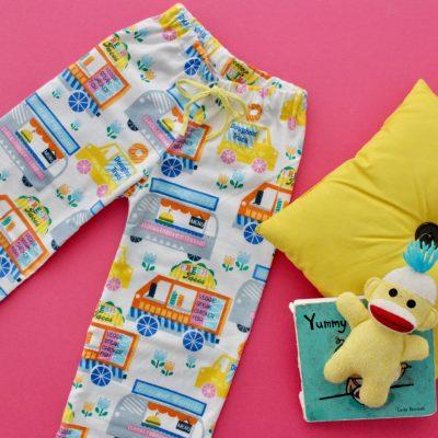 How to make Pajama pants and shorts on MADE Everyday with Dana Willard