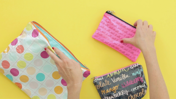 How to Laminate Fabric   video sewing tutorial from MADE Everyday with Dana