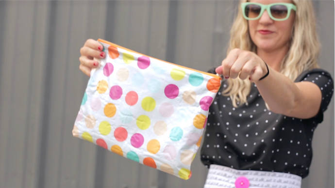 How to Laminate Fabric | video sewing tutorial from MADE Everyday with Dana