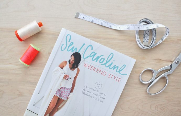 Sew Caroline Weekend Style book on MADE Everyday with Dana Willard