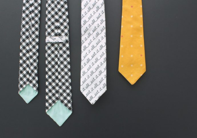 How to sew a Necktie on MADE Everyday with Dana Willard