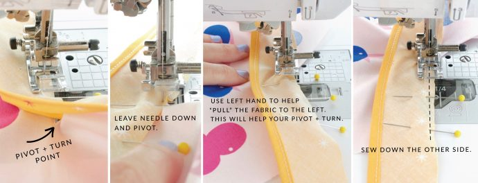 How to add a placket to a skirt TUTORIAL on MADE Everyday with Dana Willard