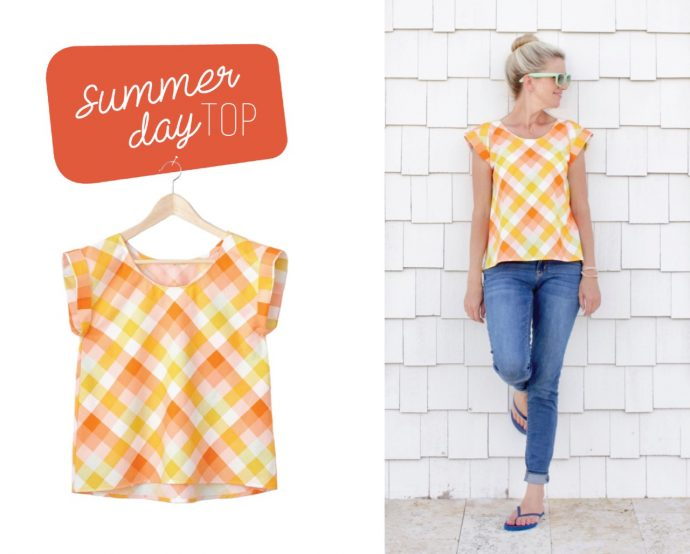 NEW Pattern – Summer Day Top –...
