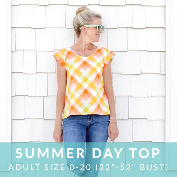 Summer Day Top sewing pattern from MADE Everyday