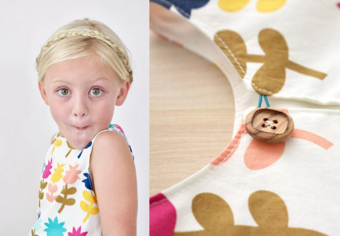 How to Sew a Kids Dress   Video Tutorial from MADE Everyday with Dana Willard   First Day Dress sewing pattern