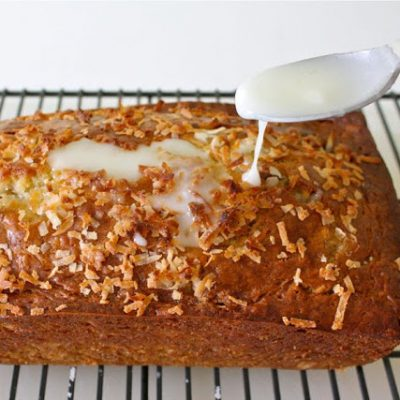 Coconut-Lime Banana Bread recipe from MADE Everyday