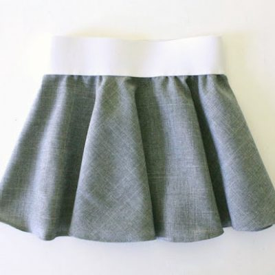 Circle Skirt sewing tutorial from MADE Everyday