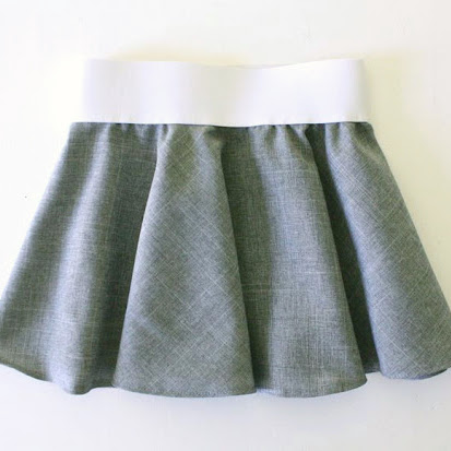 Girls Next Green Fine Cord Belted Adjustable Waist Full Gypsy Skirt Age 6 Years