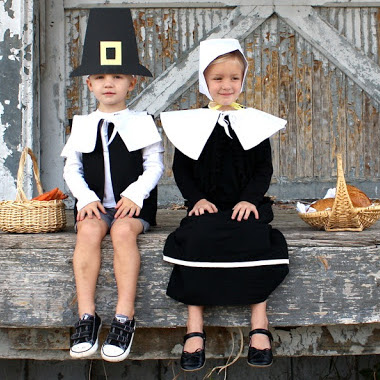 Pretend Pilgrims costume tutorial from MADE Everyday