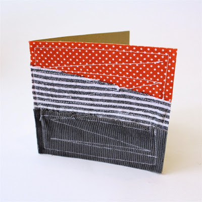 Quilted notecard greeting card tutorial from MADE Everyday with Dana