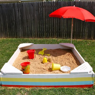 Make a Kids' Sandbox - building tutorial from MADE Everyday