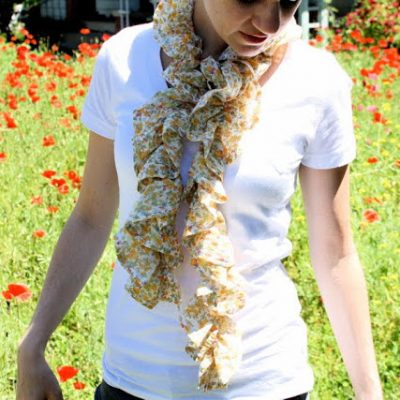 Summer Scarf sewing tutorial from MADE Everyday