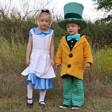 Alice in Wonderland costumes - Mad Hatter - sewing tutorial from MADE Everyday