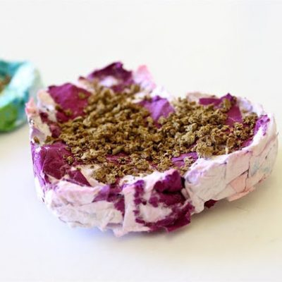 DIY shredded paper seed starters | Grow your own Wildflowers this Spring! | a crafty tutorial from MADE Everyday with Dana