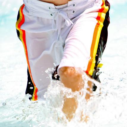 Cute Rabbit Womens Sport Beach Swim Shorts Board Shorts Swimsuit with Mesh Lining