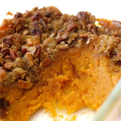 His + Hers Candy Crunch Yams Sweet Potatoes recipe from MADE Everyday with Dana