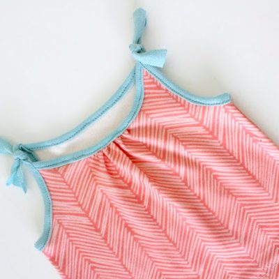 Baby tank top sewing tutorial