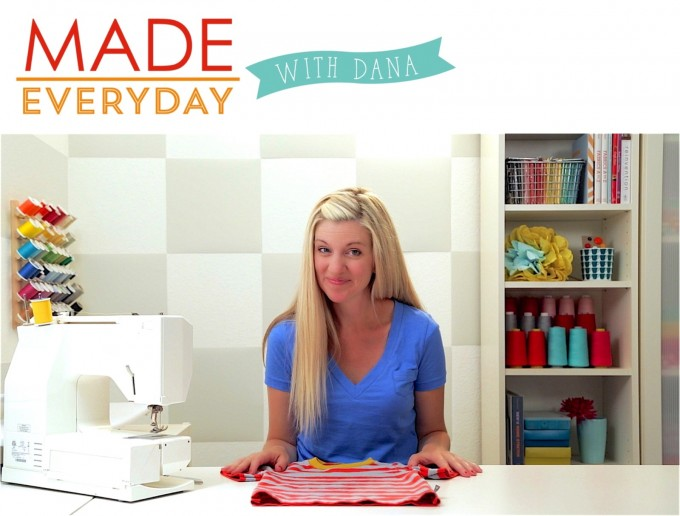 MADE Everyday with Dana sewing show | video tutorials