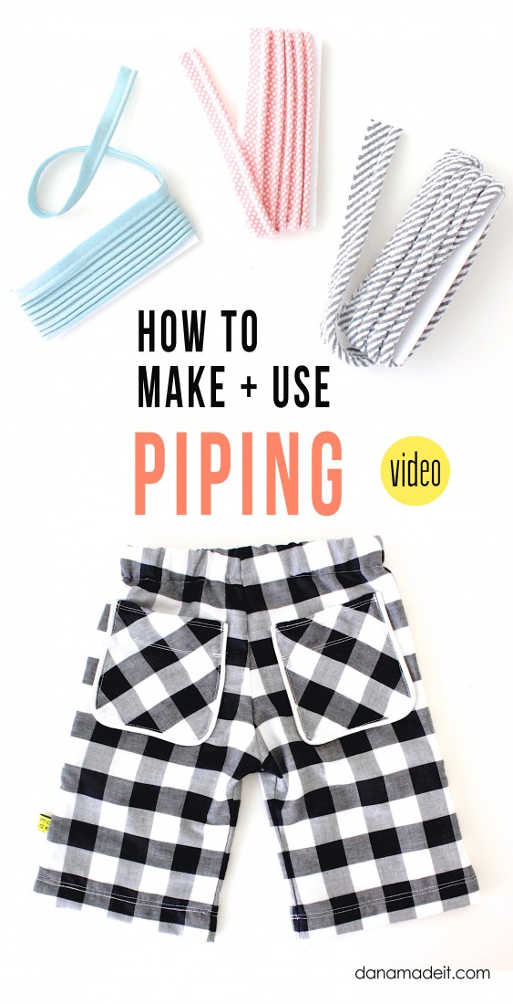 How to make and use Piping