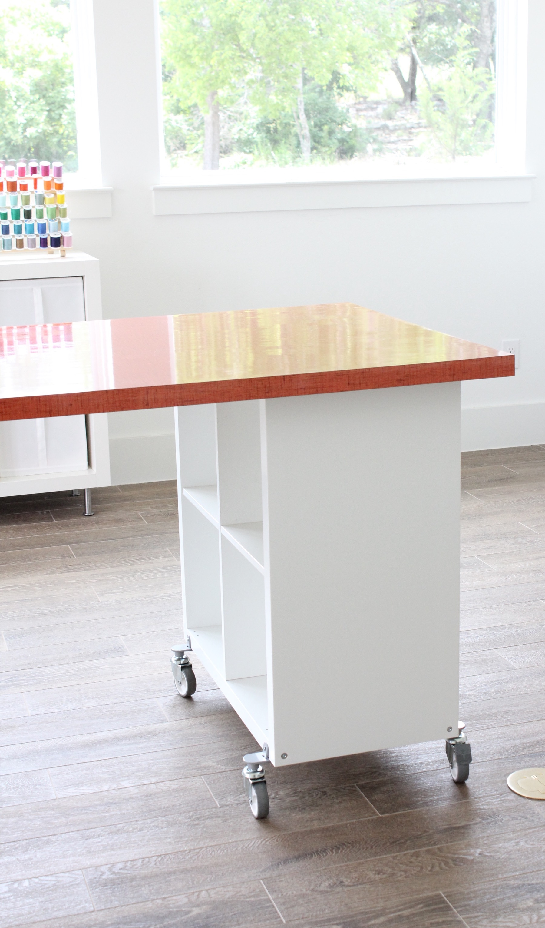 Building A New Home The Formica Craft Table Made Everyday