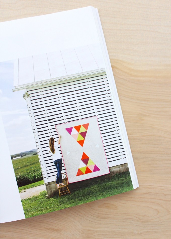 amazing quilt and barn from Handmade Style book