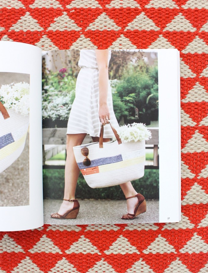 cool tote from Handmade Style book
