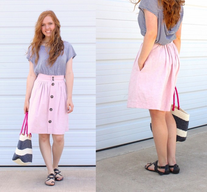 the Anywhere Skirt for teenagers and women