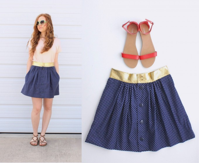 the Anywhere Skirt for teens and women