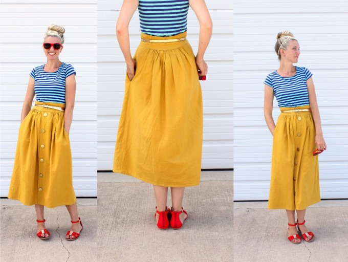 the Anywhere Skirt for women and teens