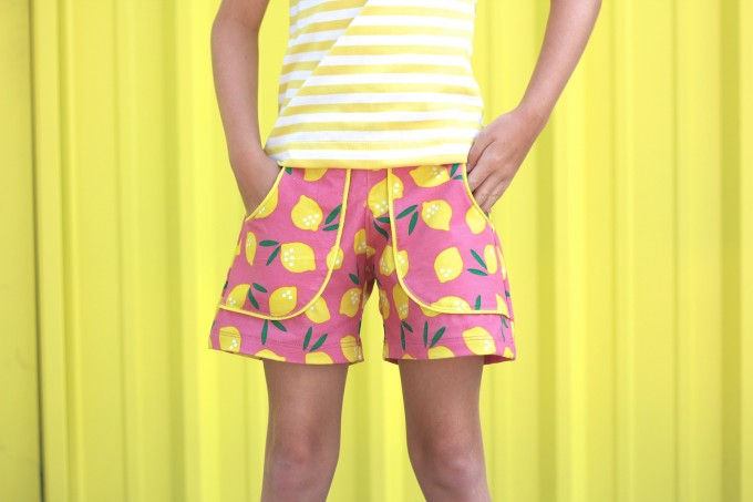 Lemon Drop KID Shorts by MADE