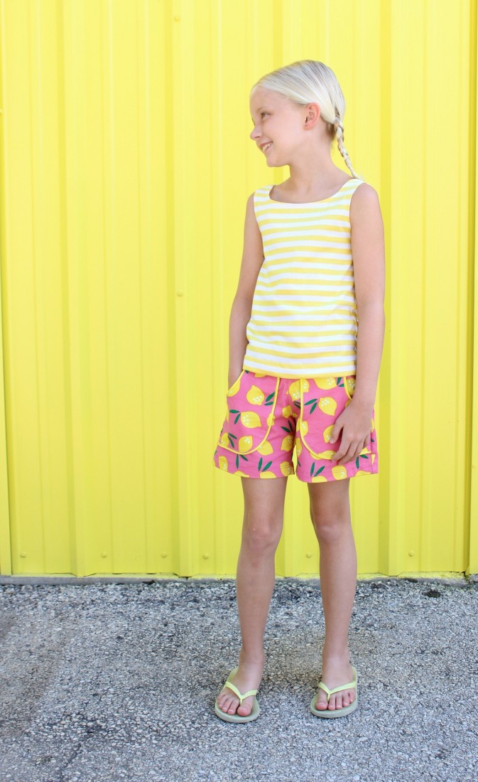 Lemonade Shorts by MADE
