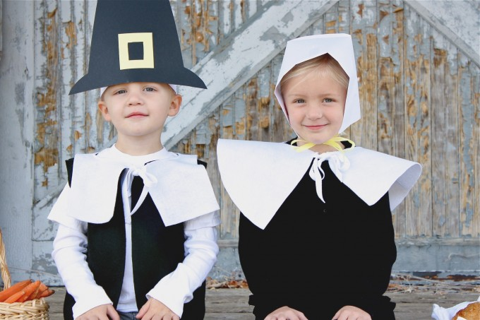Pretend Pilgrim costumes on MADE