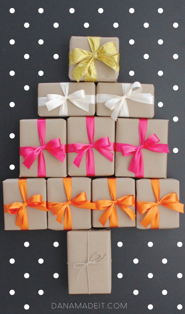 How to tie the PERFECT BOW on a gift every single time