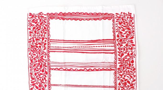 Scandinavian towel