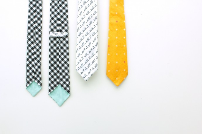Everyday Necktie Pattern for Men and Boys on MADE Everyday