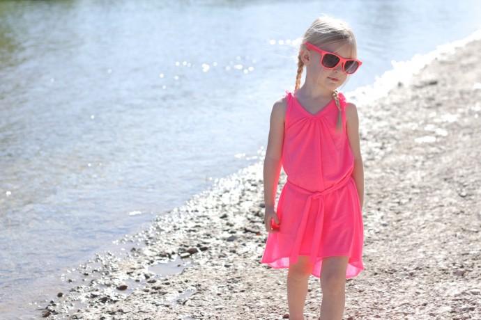 Neon Summer Dress by Dana Willard on MADE Everyday 3