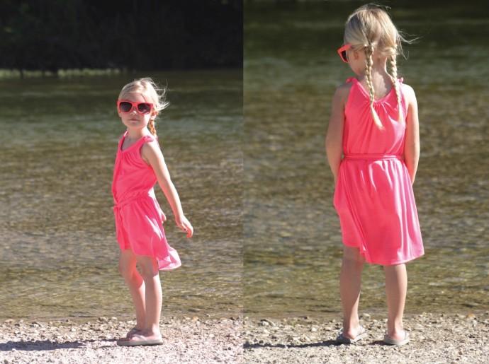 Neon Summer Dress by Dana Willard on MADE Everyday 6