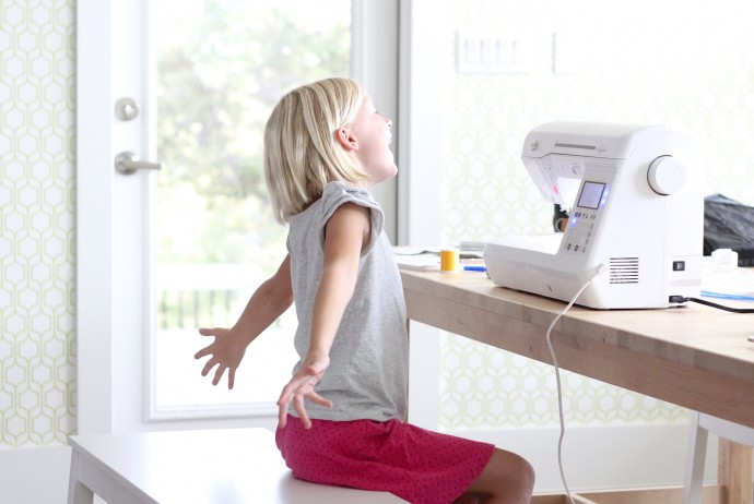 How to Use a Sewing Machine for all ages on MADE Everyday with Dana Willard