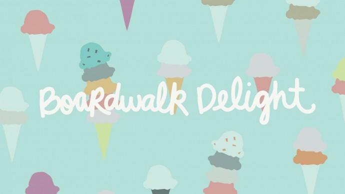 Boardwalk Delight fabric I scream You scream fabric by Dana Willard on MADE Everyday