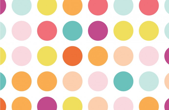 Candy Dots Fabric from Boardwalk Delight collection by Dana Willard of MADE Everyday