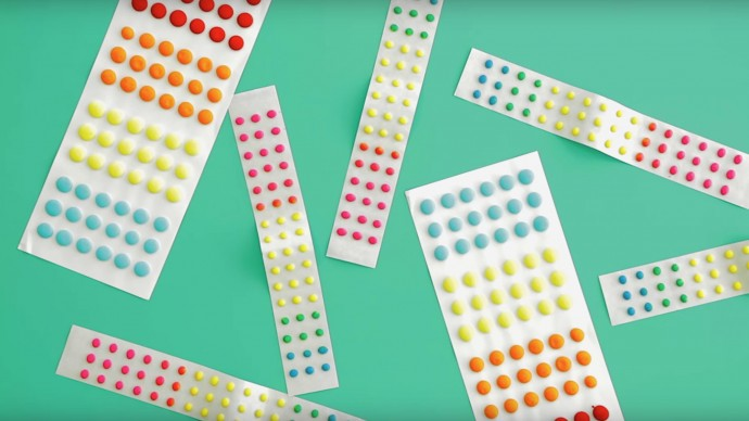 Candy Dots fabric inspiration on MADE Everyday with Dana Willard