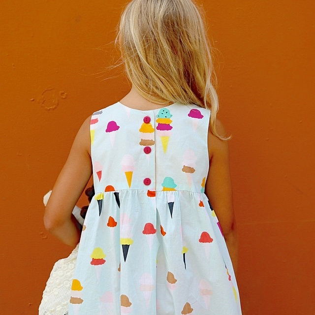 I Scream You Scream dress by Made by Rae