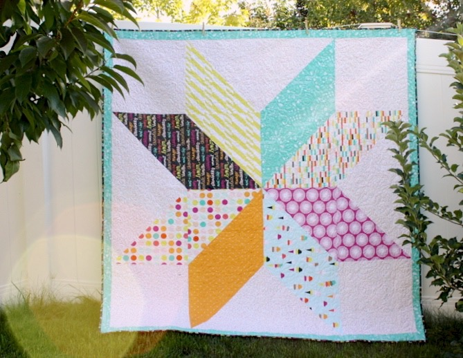 Quilt by Amy Smart of Diary of a Quilter on MADE Everyday
