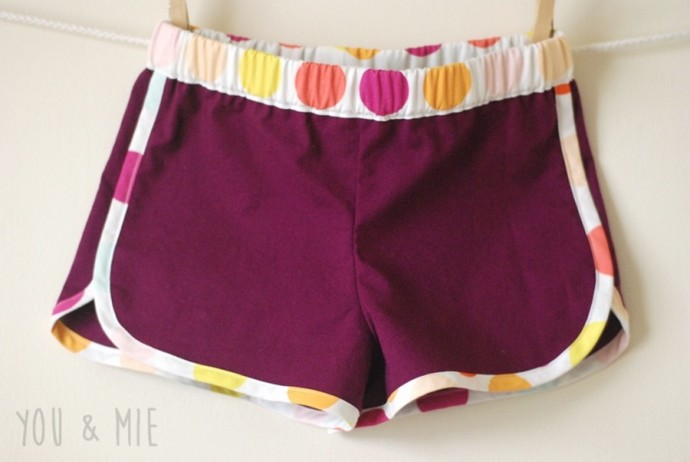 Racer Shorts by You and Mie on MADE Everyday