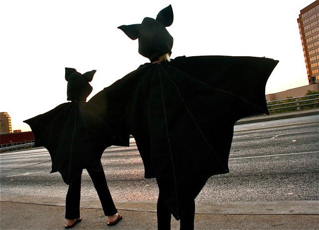 Bats Halloween costume tutorial from MADE Everyday