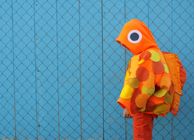 Goldfish Halloween costume from MADE Everyday