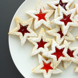 Almond Berry Linzer Cookies recipe from MADE Everyday