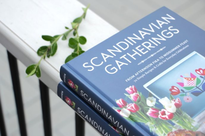 Scandinavian Gatherings book - review and giveaway from MADE Everyday with Dana