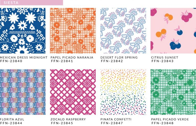 Fiesta Fun Fabrics by Dana Willard for Art Gallery Fabrics